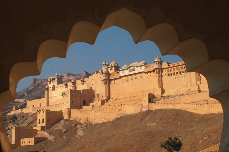 Amber Fort bei Jaipur. Foto: Diana