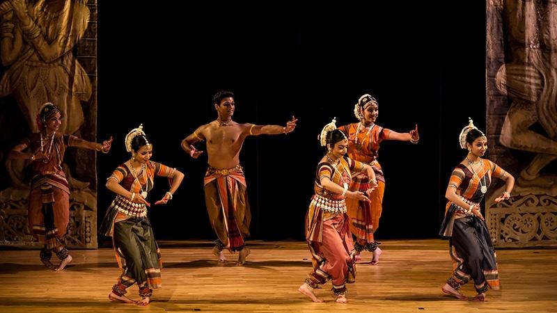 Odissi Tanzvorführung. Foto: Dinesh Cyanam