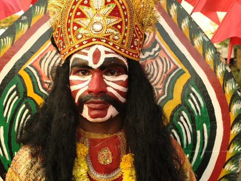 Shigmo, das Frühlingsfest in Goa. Foto: Frederick Noronha