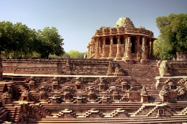 Ein Stufenbrunnen in Gujarat. Foto: Giles Clark