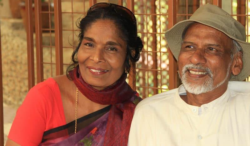 Leela und Mathew Moozhiyil, Foto: Gudrun Heiser