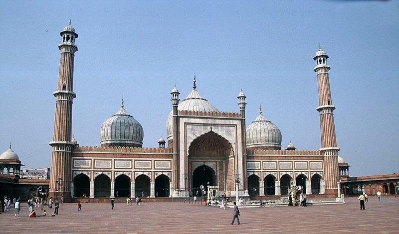 Die große Freitagsmoschee Jama Masjid in Delhi. Foto: Guillaume