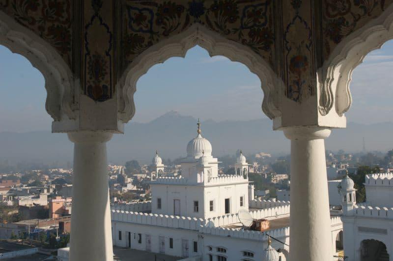 Blick auf Anandpur Sahib. Foto: Gurumustuk Singh