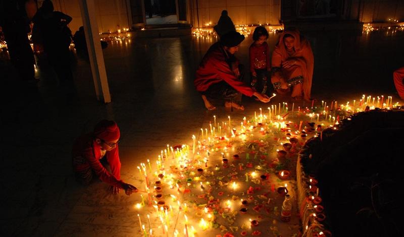 Selbst die Sikhs feiern Diwali. Foto: Harpreet Singh