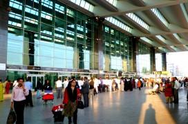 Flughafen in Bangalore. Foto: Harry Lawford