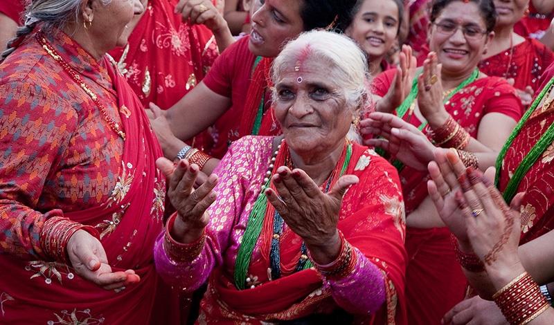 Festivals - Teej, das Frauenfestival