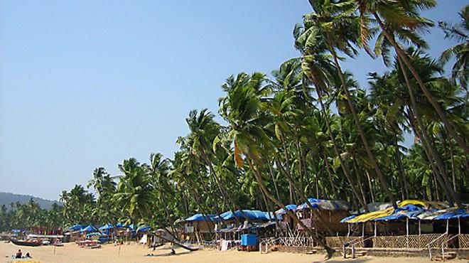 Die schönen Strände Goas werden weiterentwickelt. Foto: J. Thornett