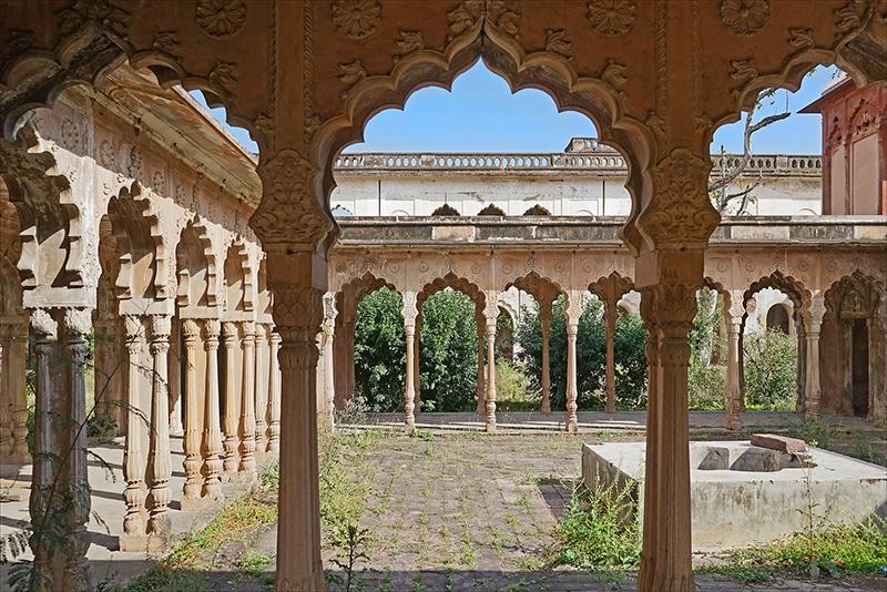 Taj Mahal in Bhopal - nicht zu verwechseln mit dem Taj in Agra. Foto: Jean-Pierre Dalbéra