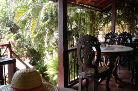 Restaurant mit Aussicht. Foto: Jules Joseph