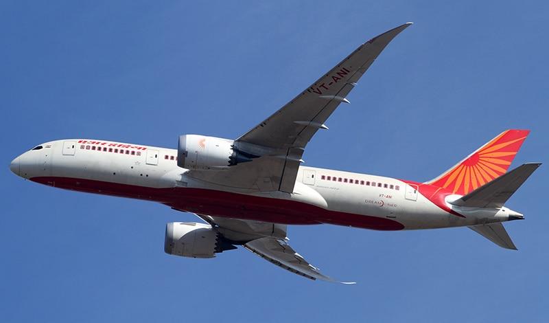Dreamliner aus der Flotte von Air India