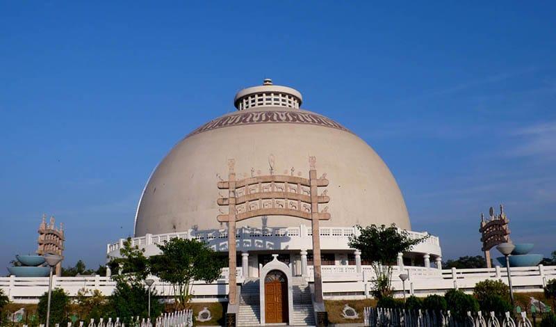 Buddhistische Stupa Deekshabhoomi in Nagpur
