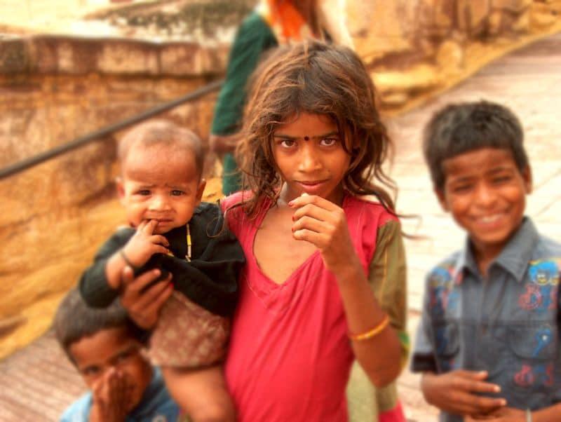 Sehr viele Kinder in Indien können unsere Unterstützung gut gebrauchen. Foto: LastAvalon