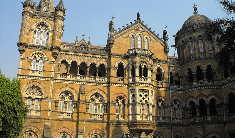 Ein kleiner Ausschnitt des Chhatrapati Shivaji Terminus. Foto: Leon Yaakov