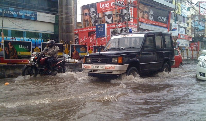Überschwemmung Kerala