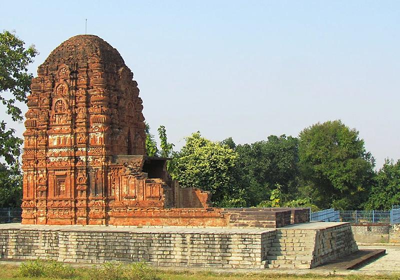 Der Laxman Tempel in Sirpur. Foto: Lomita
