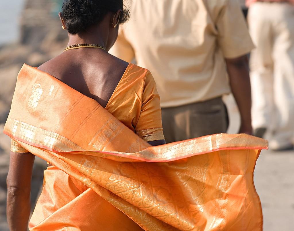 Was wäre Indien ohne seine zauberhaften Saris ... Foto: Louis Vest