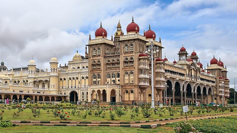 Mysore Palace. Foto: Marc Dalmulder