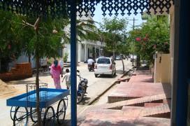 Im französischen Viertel in Puducherry. Foto: Melanie M.