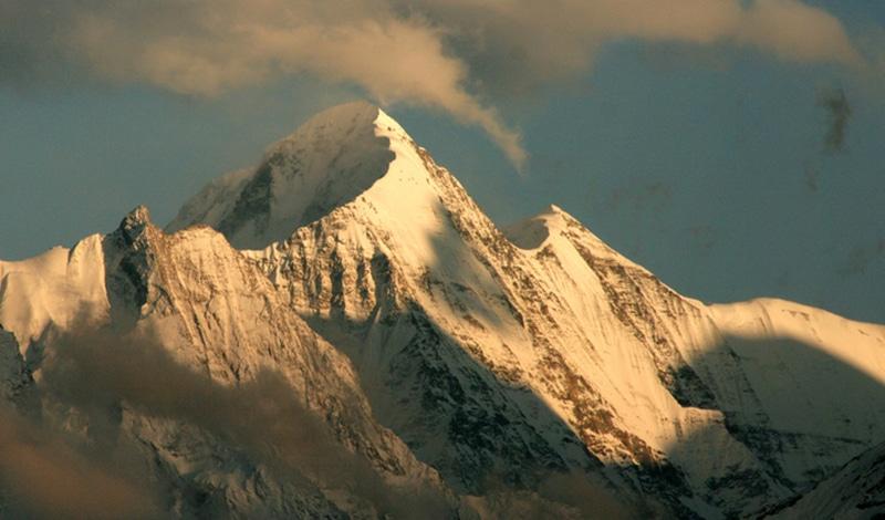 Der Anblick der Himalaya-Gipfel ist überwältigend. Foto: Michael Scalet