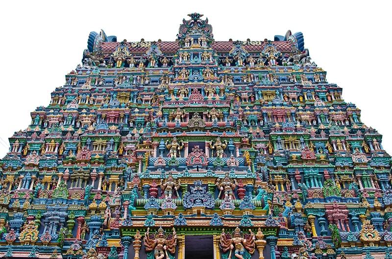 Meenakshi Tempel in Madurai. Foto: Pablo Necochea