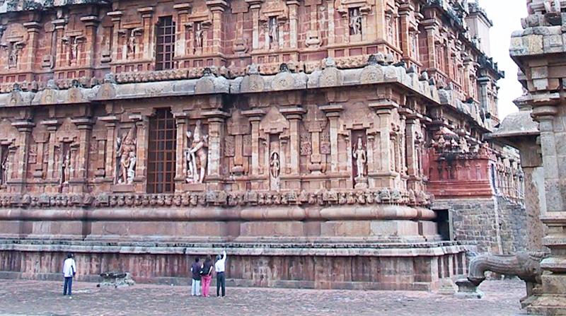 Brihadishvara Tempel in Thanjavur. Foto: Pari