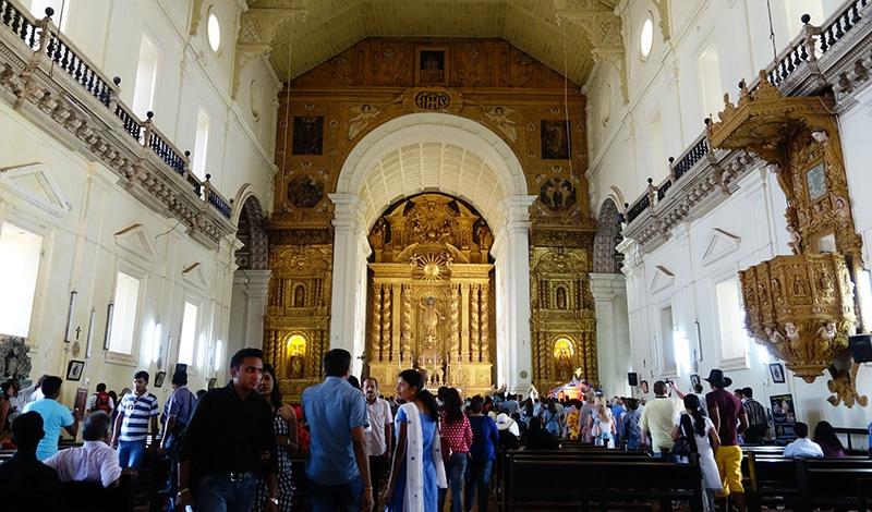 Im Innern der Bom Jesus Basilika. Foto: Paul Simpson