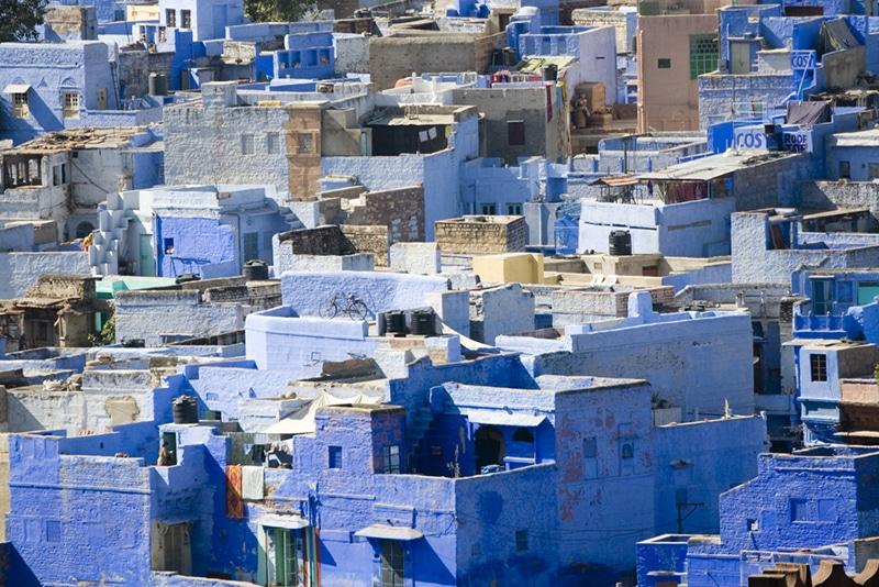 Jodhpur, die blaue Stadt in Rajasthan. Foto: Phil Robinson