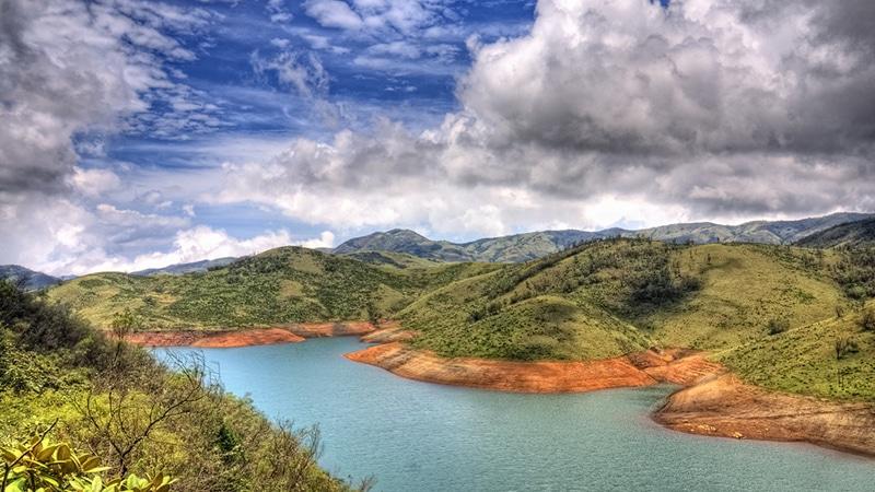 Die bezaubernde Landschaft rund um Ooty; hier: der Upper Bhavani See. Foto: Prabhu B. Doss