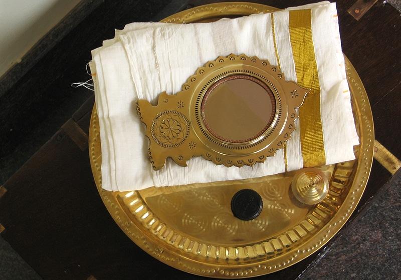 Aranmula Kannadi - Spiegel aus Kerala