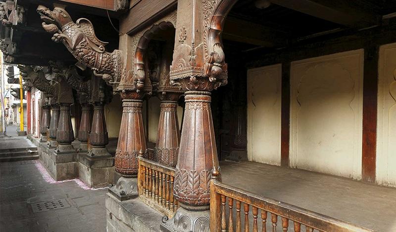 Städtereise nach Pune - Vishrambaag Wada Mansion
