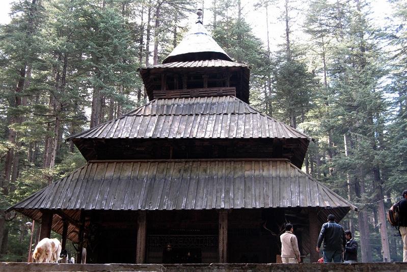 Der Hadimba-Tempel in Manali