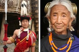 Zwei Angehörige des Ao-Stammes. Fotos: Retlaw Snellac