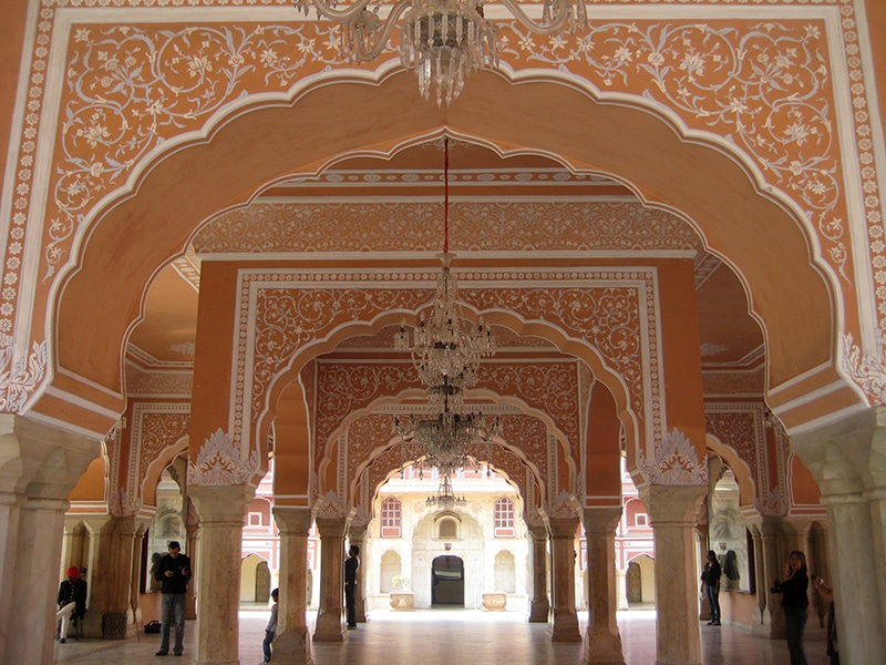 City Palace (Stadtpalast) in Jaipur. Foto: Sameer Goyal