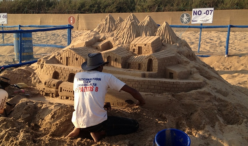 Sandfestival Konark