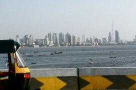 Blick auf die Skyline Mumbais. Foto: Satish Krishnamurthy