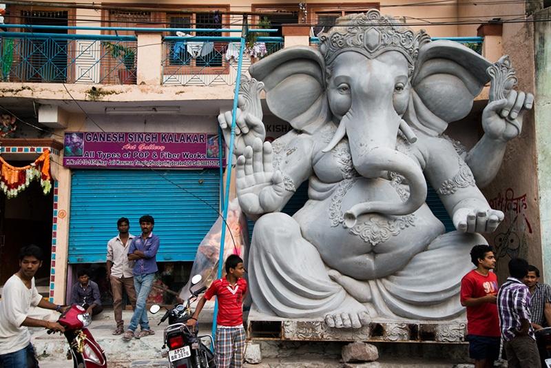 Ganesha-Statue für Ganesh Chaturthi