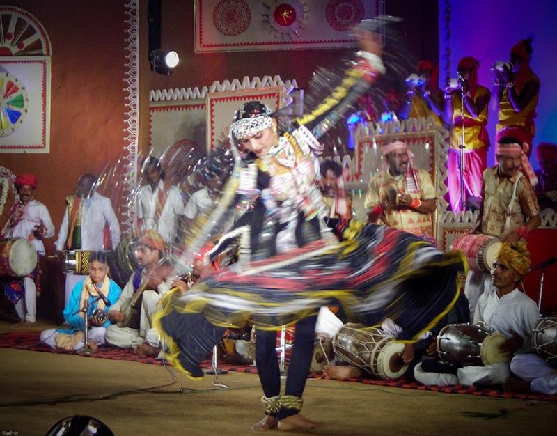 Volkstanz aus Rajasthan. Foto: Selvin Kurian