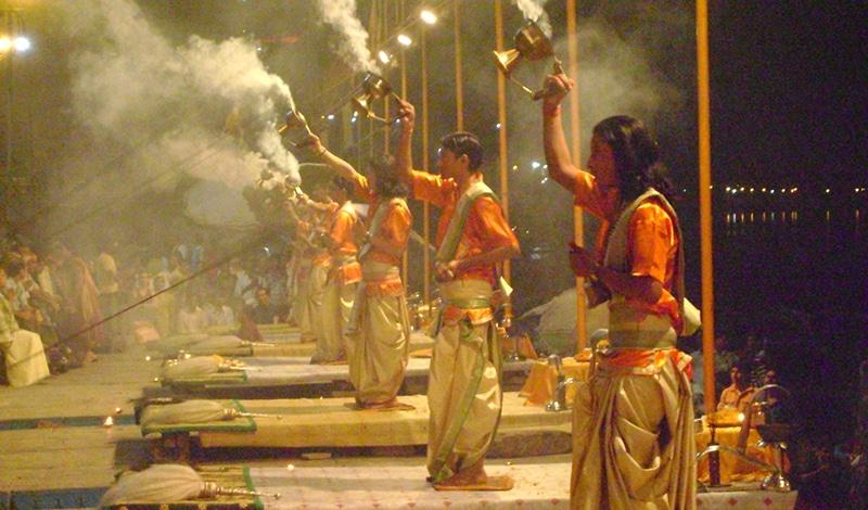 Aarti in Varanasi