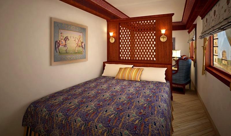 Schlafabteil im Maharajas' Express