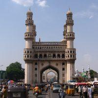 Charminar, das Wahrzeichen von Hyderabad