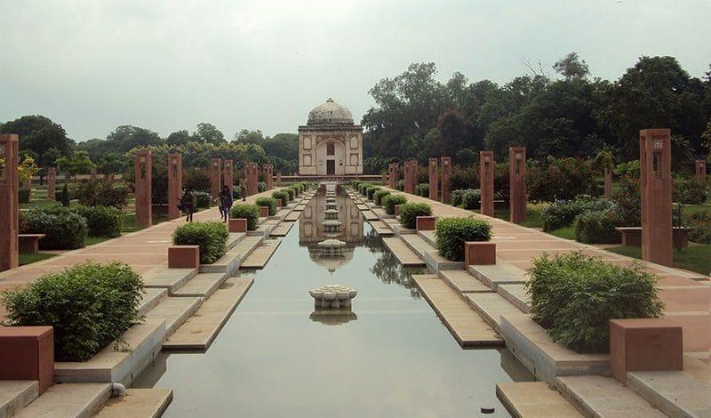 Sunder Nursery in Neu-Delhi.