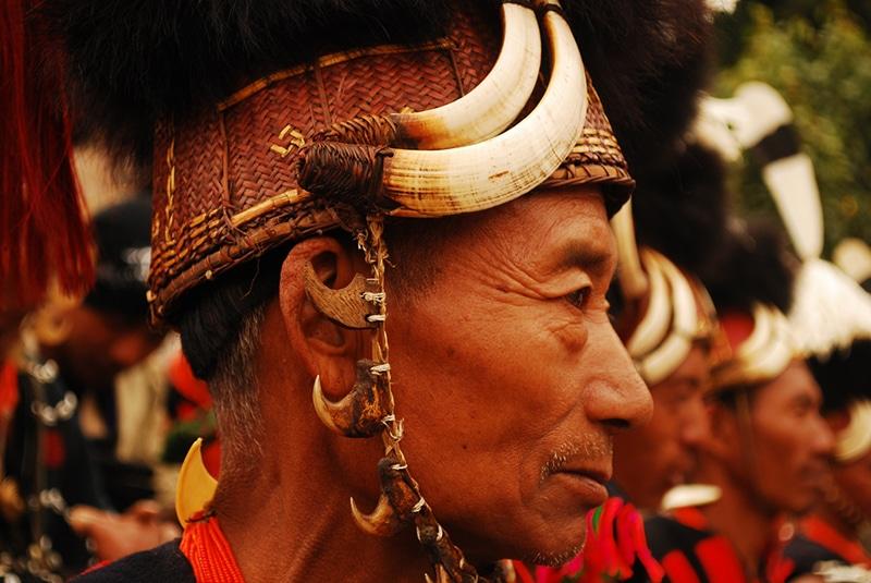 In Stammestracht beim Hornbill Festival. Foto: Supriya Sehgal