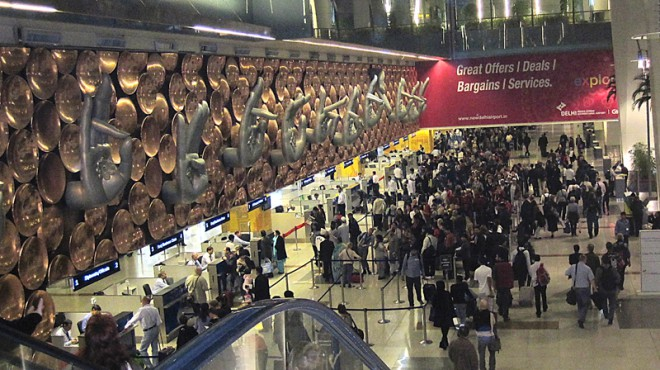 Flughafen-Delhi