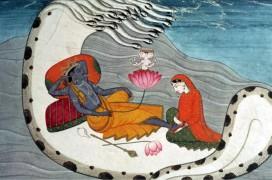 Vishnu und Lakshmi. V&A Museum