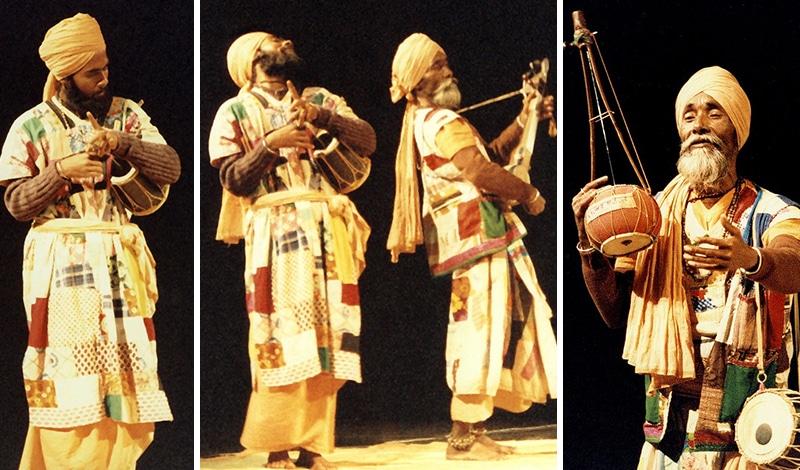 Bengalische Baul-Musiker. Foto: Vernon Hyde