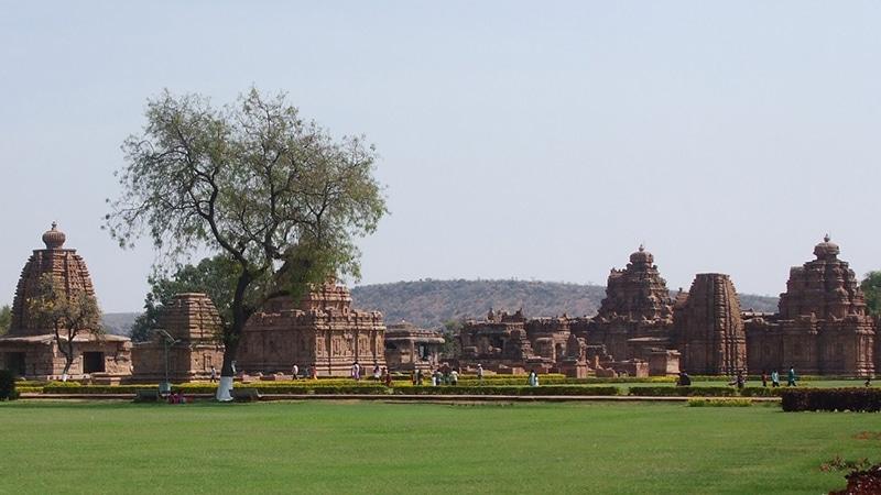 Die Tempelanlage von Pattadakal. Foto: Voyou Desoeuvre