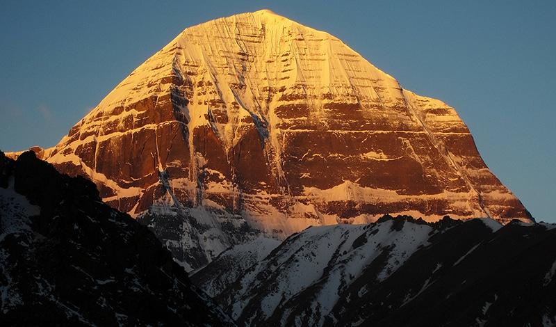 Ein magischer Anblick - der Kailash im Sonnenaufgang. Foto: cc doh
