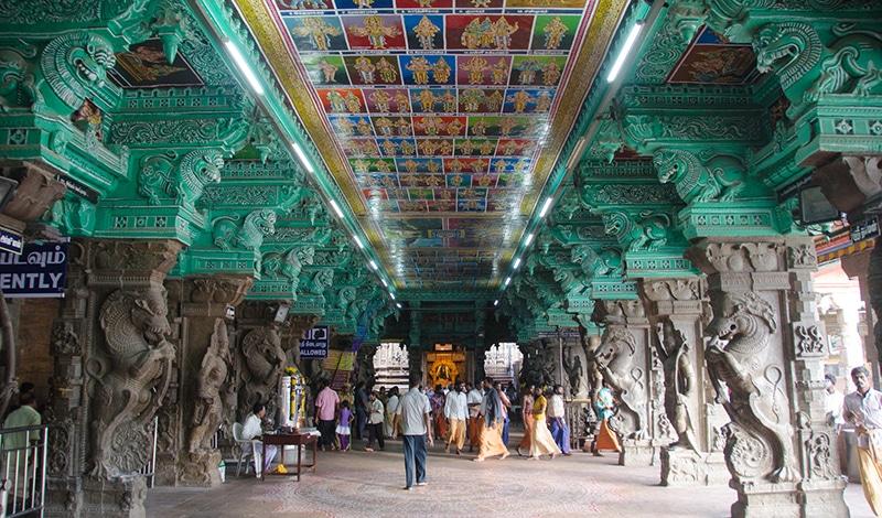 Meenakshi-Tempel in Madurai