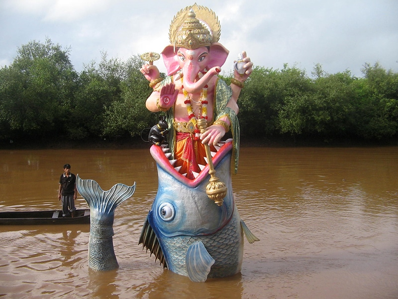 Ganesh Chaturthi in Goa. Foto: mamta tv.