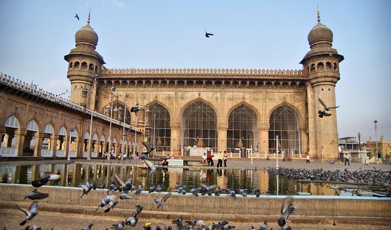 Mekka Moschee in Hyderabad. Foto: Pranav